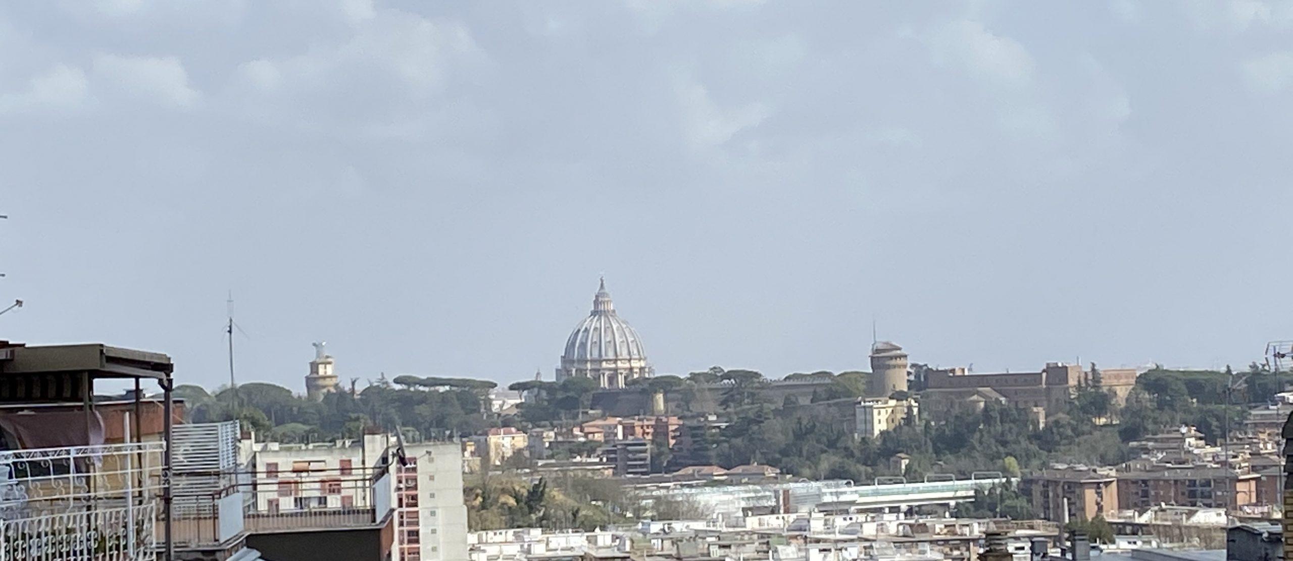 Palestra sul tetto – Via Vittorio Polacco 41, Roma
